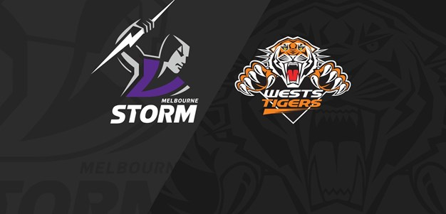 2020 Match Replay: Rd.19, Storm vs. Wests Tigers