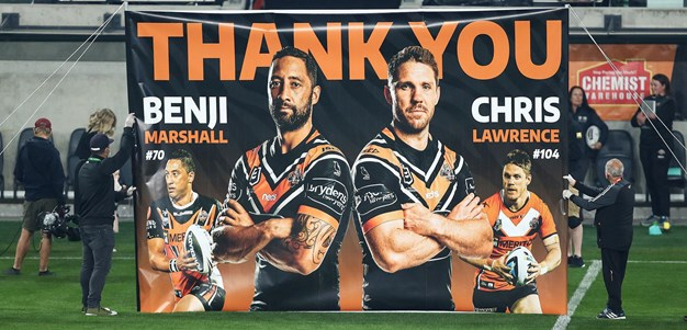 Wests Tigers farewell Marshall and Lawrence
