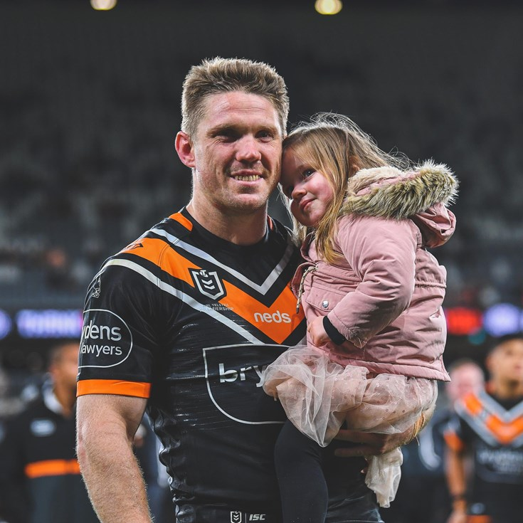 Lawrence, Marshall farewelled in post-match presentation