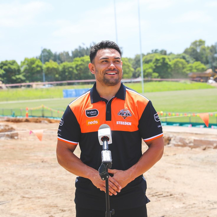 Construction begins on Wests Tigers Centre of Excellence