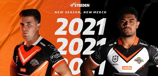 Wests Tigers launch 2021 jerseys