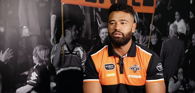 Zane Musgrove re-signs with Wests Tigers