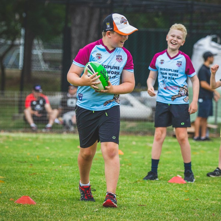 Wests Tigers 2021 Holiday Clinics