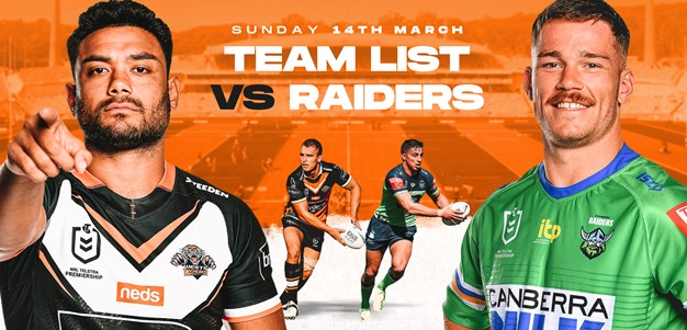 NRL Team Announcement: Round 1