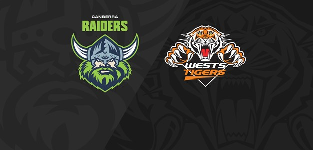2021 Match Replay: Rd.1, Raiders vs. Wests Tigers