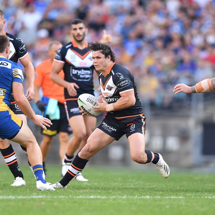 Roberts eager for his first try in Wests Tigers colours