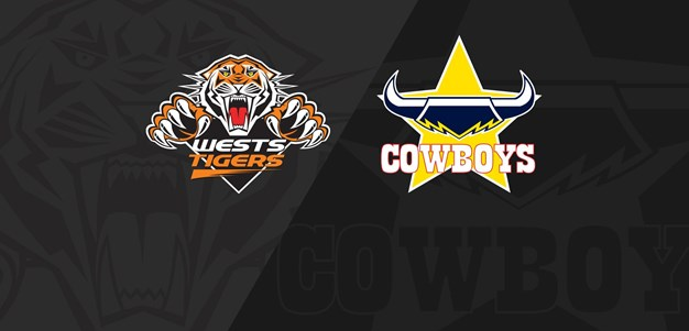 2021 Match Replay: Rd.5, Wests Tigers vs. Cowboys
