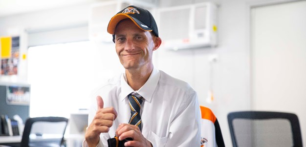 Ash's hard work and connection to Wests Tigers