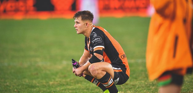 Simpkin reflects on NRL debut