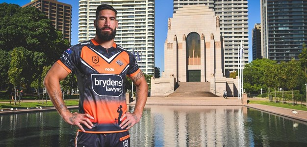 Tamou honoured to represent on Anzac Day