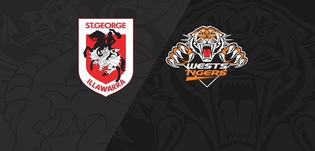2021 Match Replay: Rd.8, Dragons vs. Wests Tigers