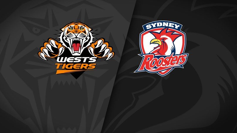 2021 Match Replay: Trial, Wests Tigers vs. Roosters