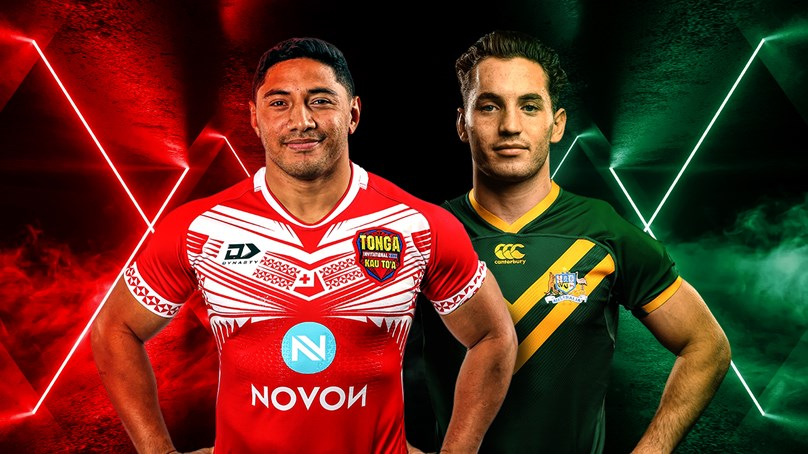 Tonga Invitational v Kangaroos, Test Match, 2019