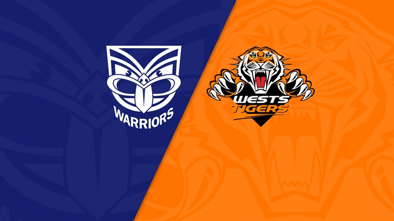 NRL Trials: Warriors v Wests Tigers