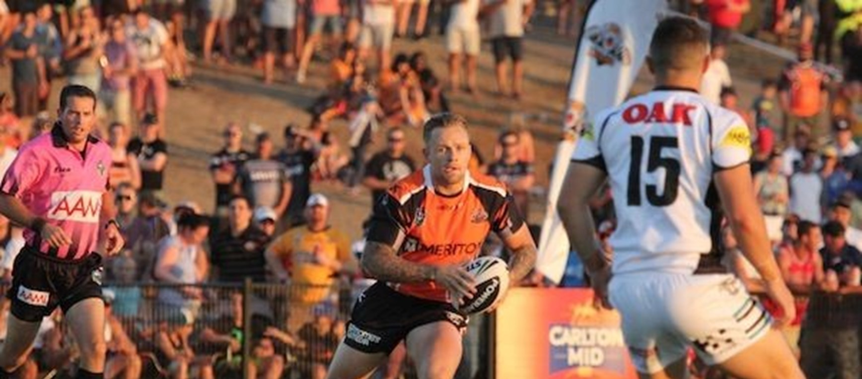 Wests Tigers vs Penrith Panthers - Trial 1