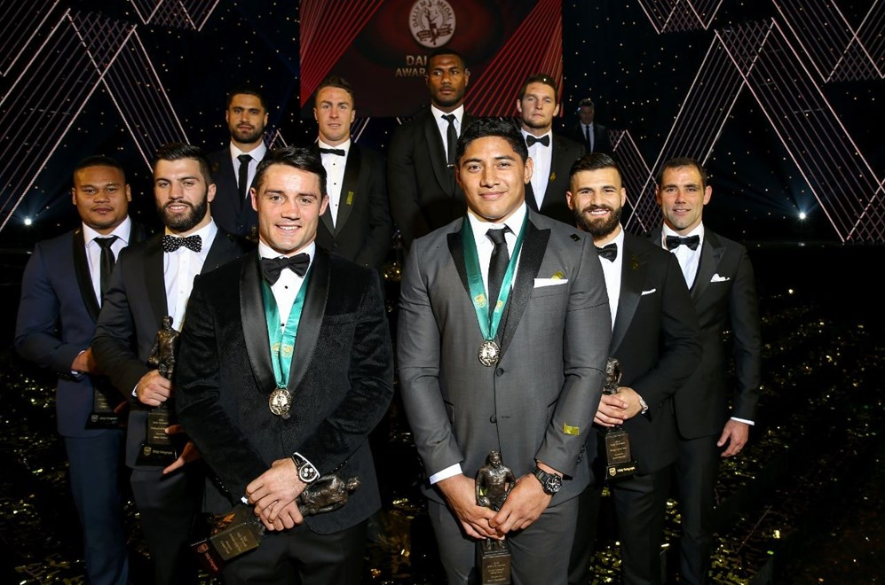 Competition - NRL Dally M Awards. 