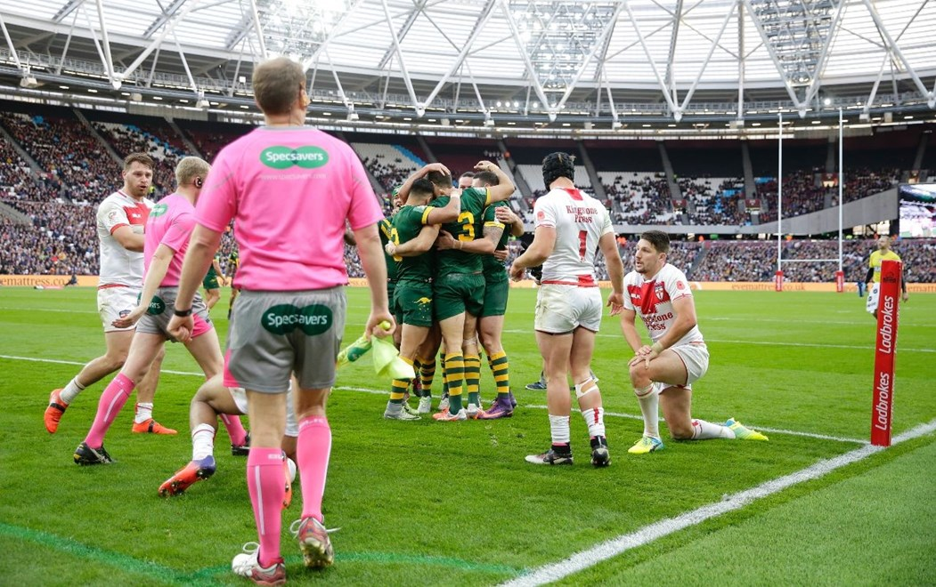 2016 International Rugby League, 4 Nations -ENGLAND v AUSTRALIAN KANGAROOS.