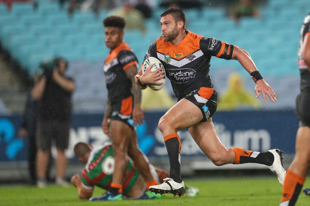 Competition - NRL. Round - Round 1. Teams - South Sydney Rabbitohs v Wests Tigers. Date - 3rd of March 2017. Venue - ANZ Stadium