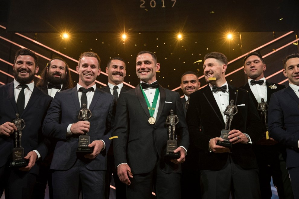 2017 Dally M Awards Winners - Wests Tigers