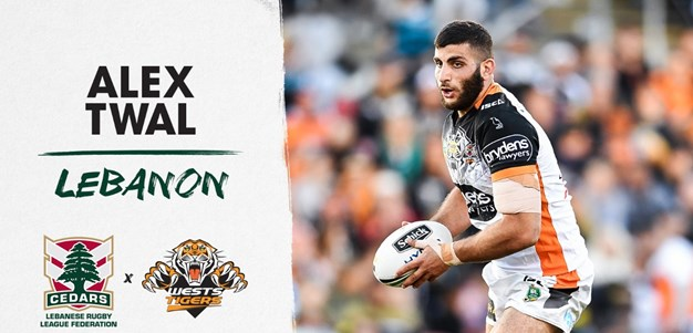 Alex Twal named in Lebanon World Cup squad