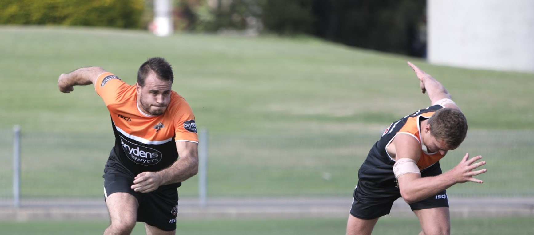 Gallery: Monday pre-season field session