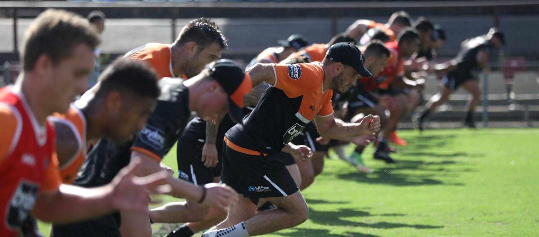 Gallery: Hard at work in pre-season training