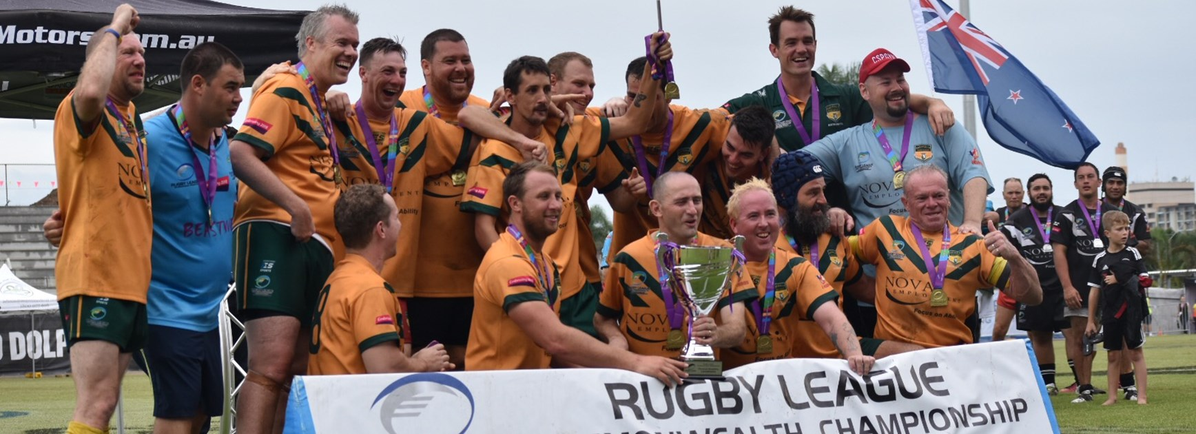 Australia wins Physical Disability Rugby League gold at Commonwealth Championships