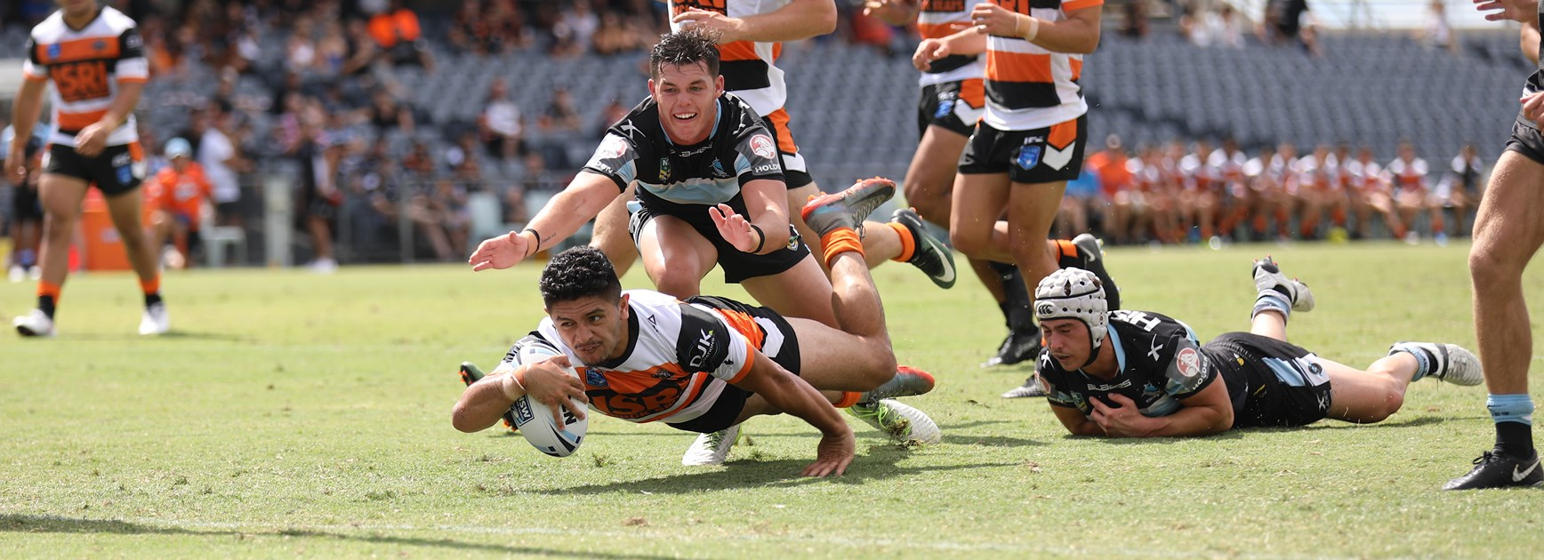 Wests Tigers Jersey Flegg secure first win of season