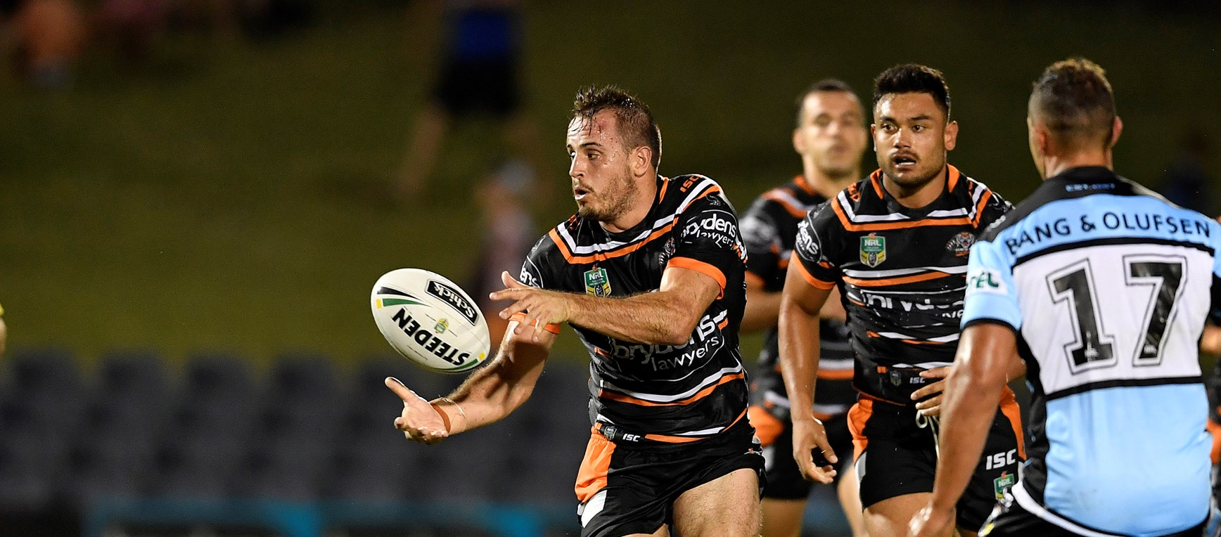 Gallery: Wests Tigers v Sharks Trial