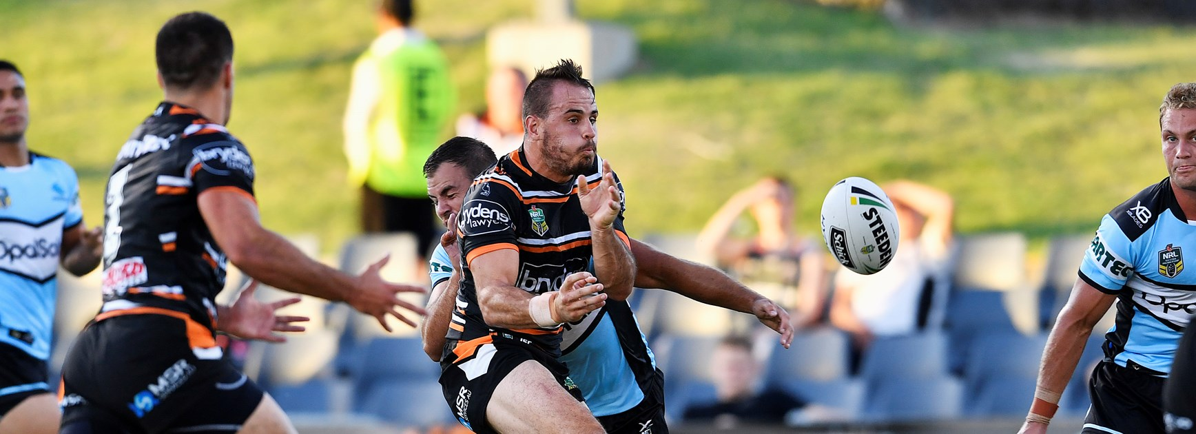 Sharks hold off Wests Tigers in final trial