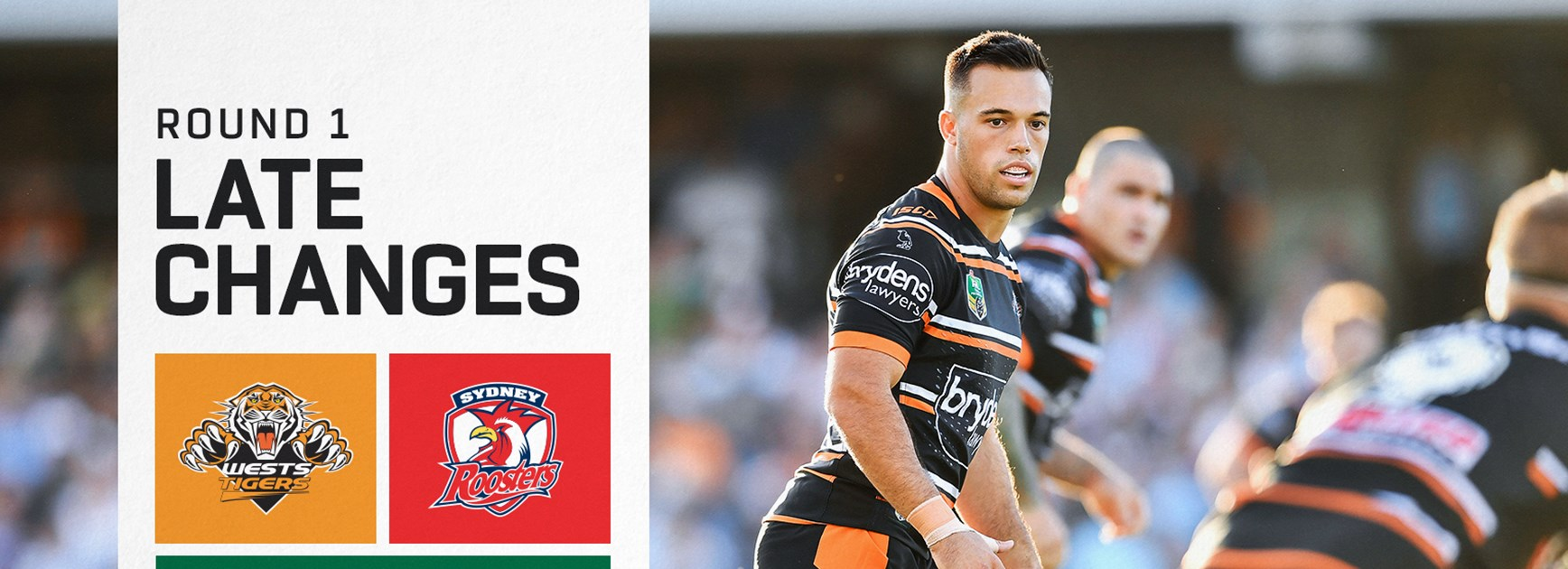Late Changes: NRL Round 1