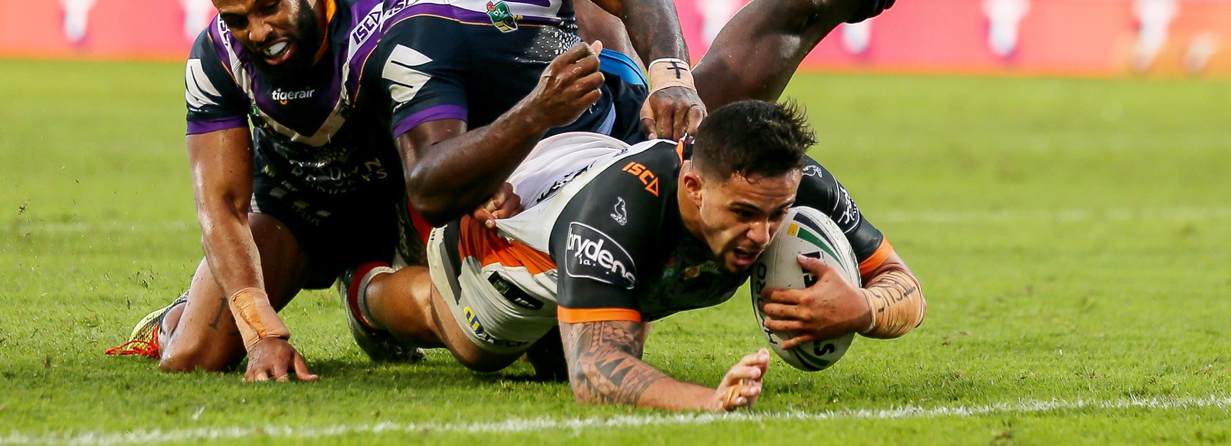 Wests Tigers stun Storm in Auckland