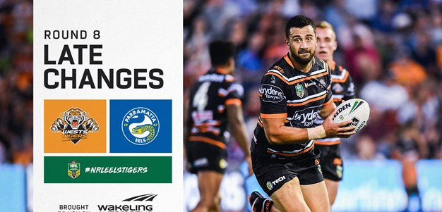 NRL Late Changes: Round 8