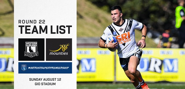 ISP Team Announcement: Round 22
