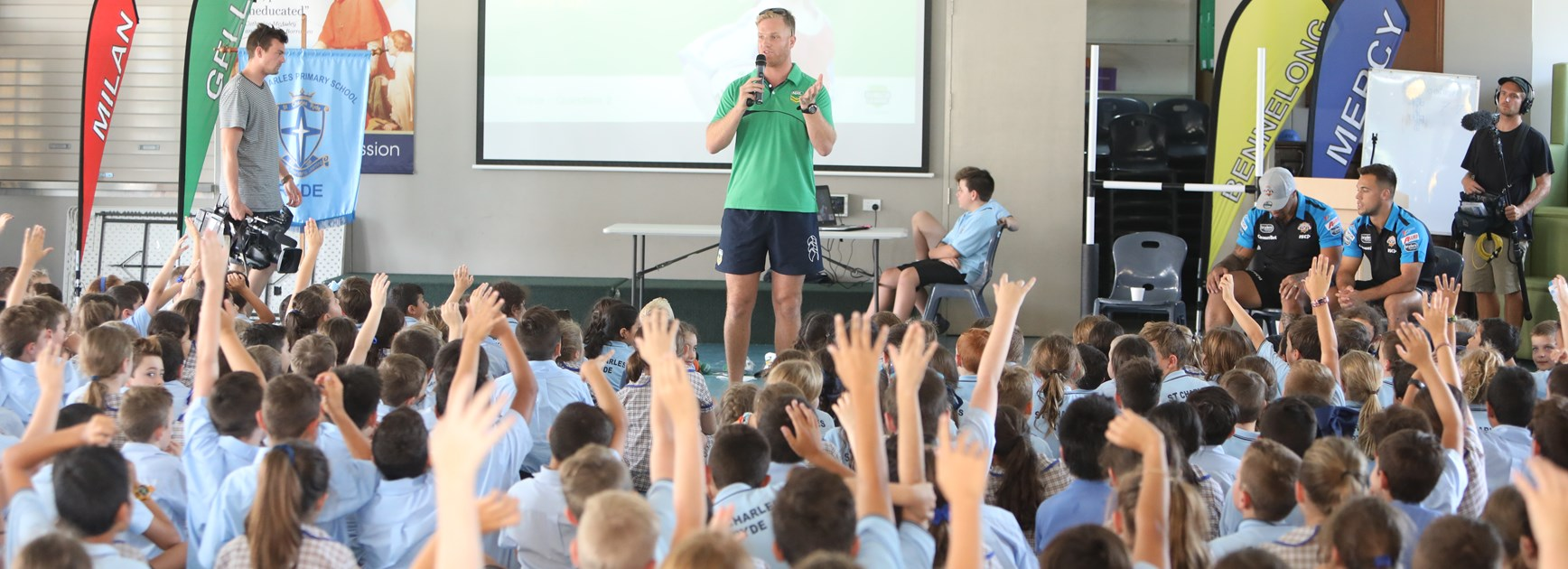 Wests Tigers in schools this week!