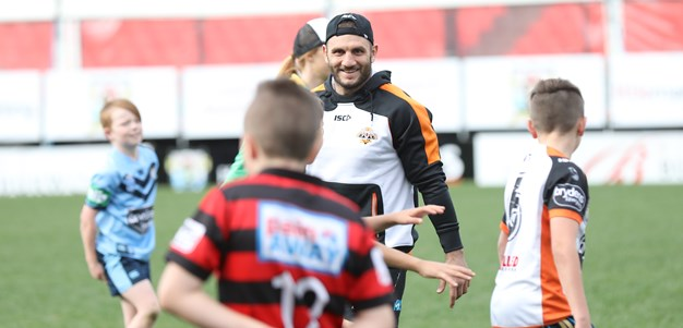 Gallery: Wests Tigers Holiday Clinic