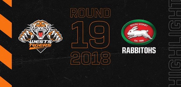 2018 Match Highlights: Rd.19, Wests Tigers vs. Rabbitohs