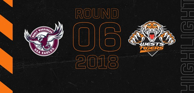 2018 Match Highlights: Rd.6, Sea Eagles vs. Wests Tigers