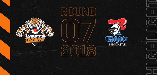 2018 Match Highlights: Rd.7, Wests Tigers vs. Knights