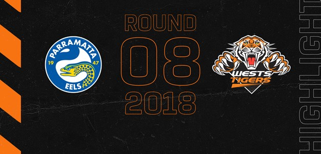 2018 Match Highlights: Rd.8, Eels vs. Wests Tigers