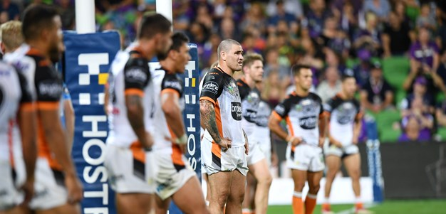 Wests Tigers produce league's best scramble defence in 2018