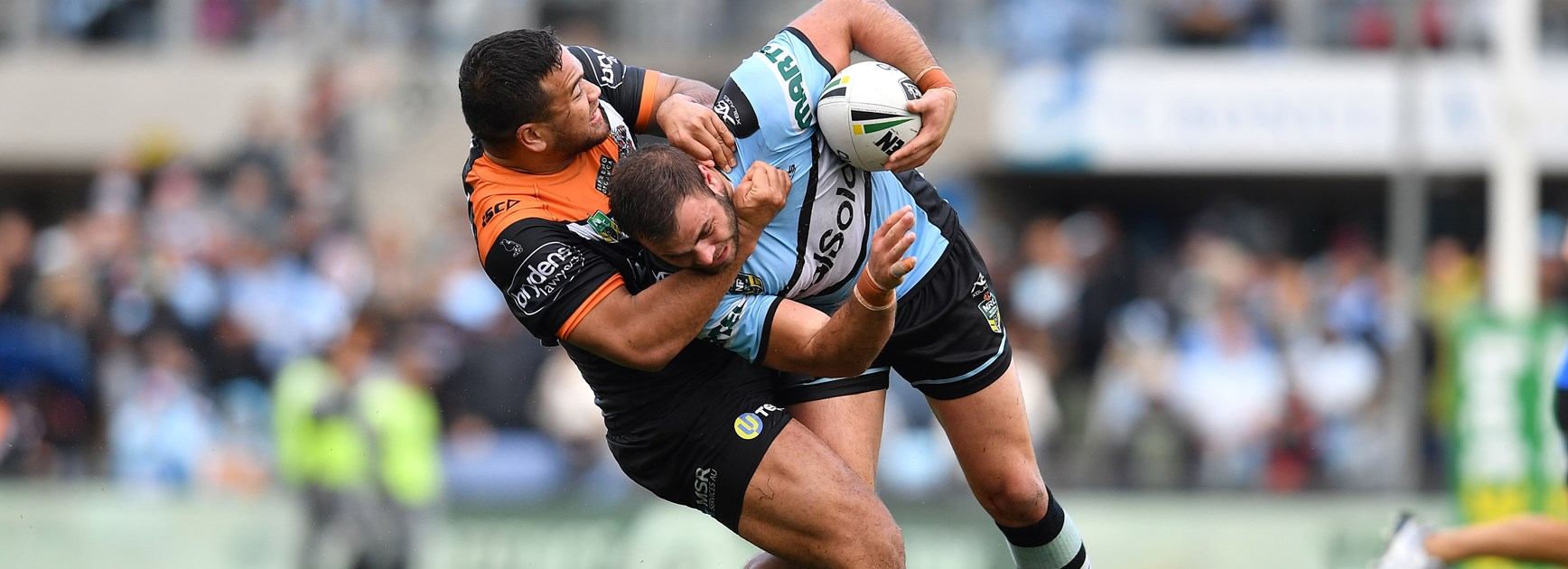 Wests Tigers fall to Sharks in tight tussle