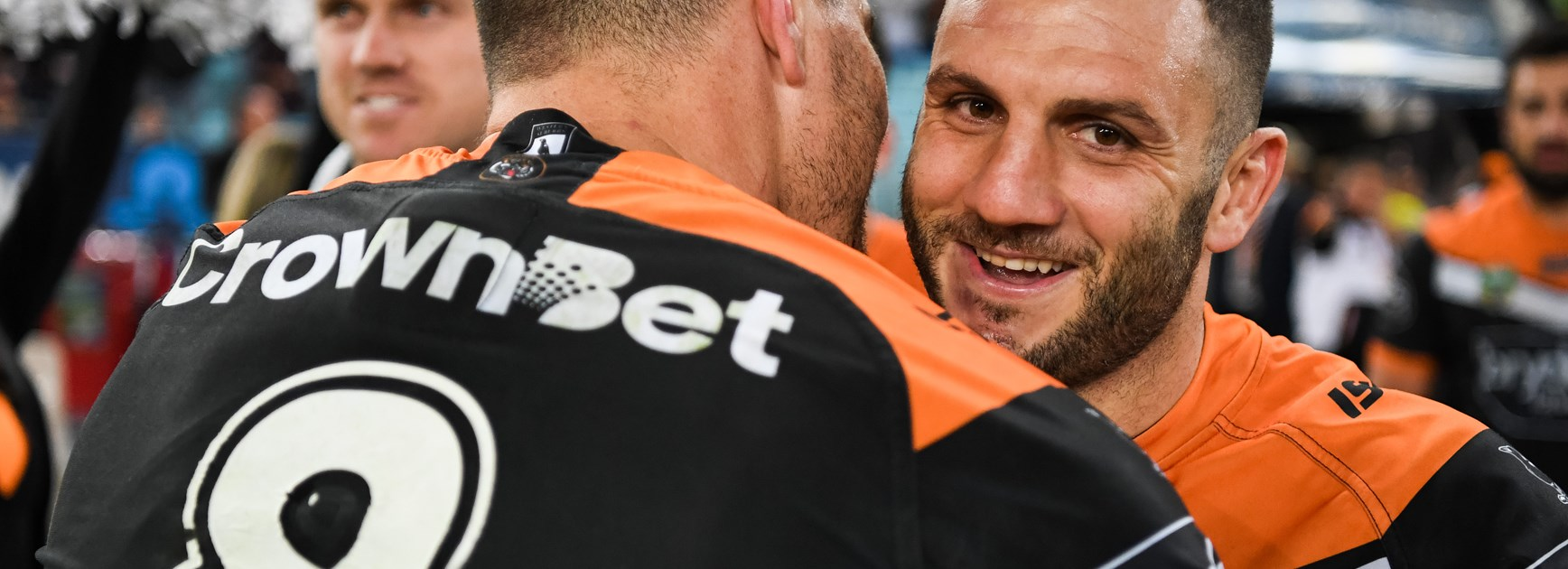 Wests Tigers Results: Round 19