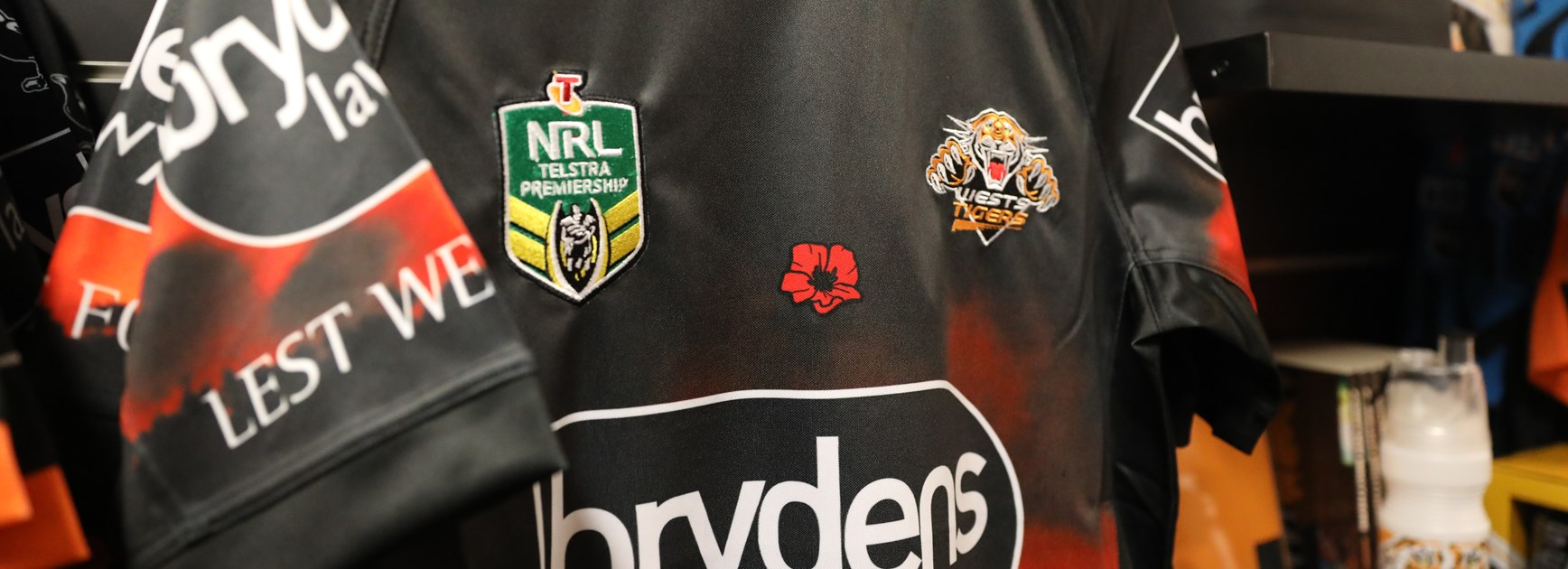 2018 ANZAC Jersey Auction