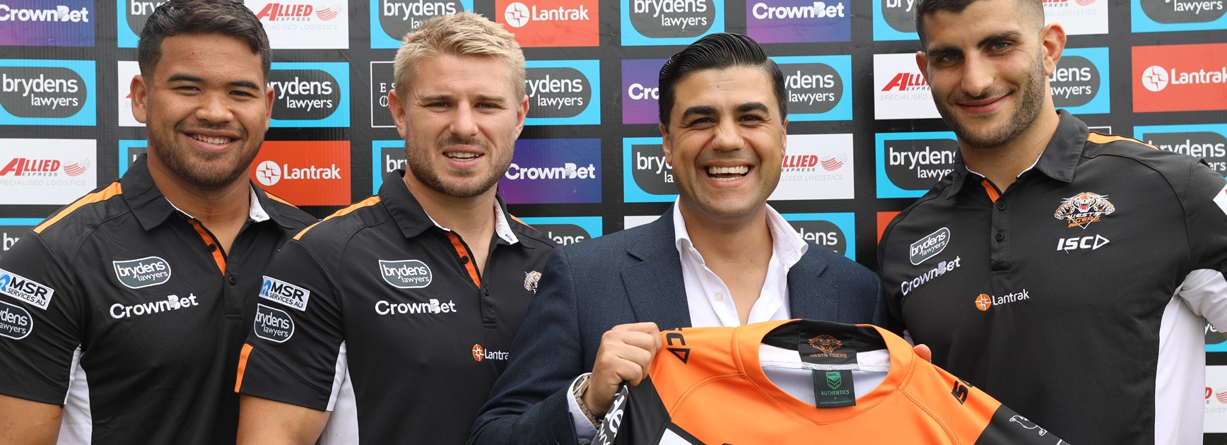Wests Tigers welcome Espresso Organica as Corporate Partner