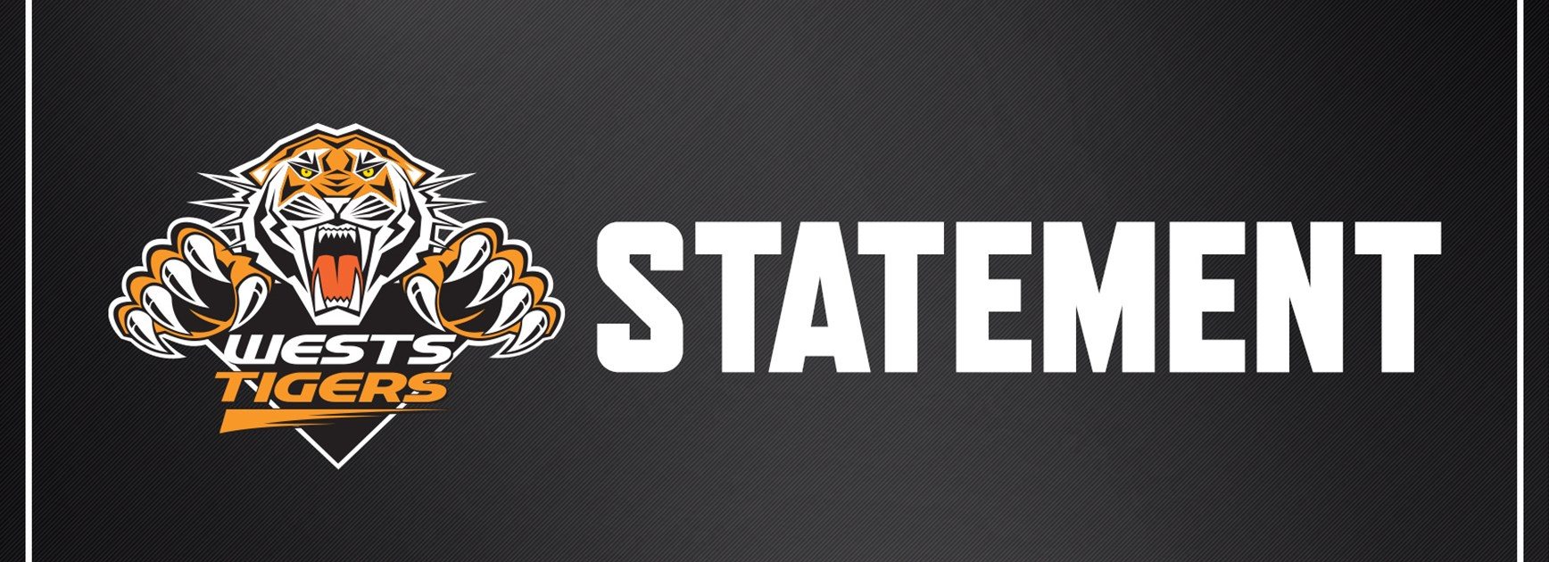 Wests Tigers Statement on Zane Musgrove