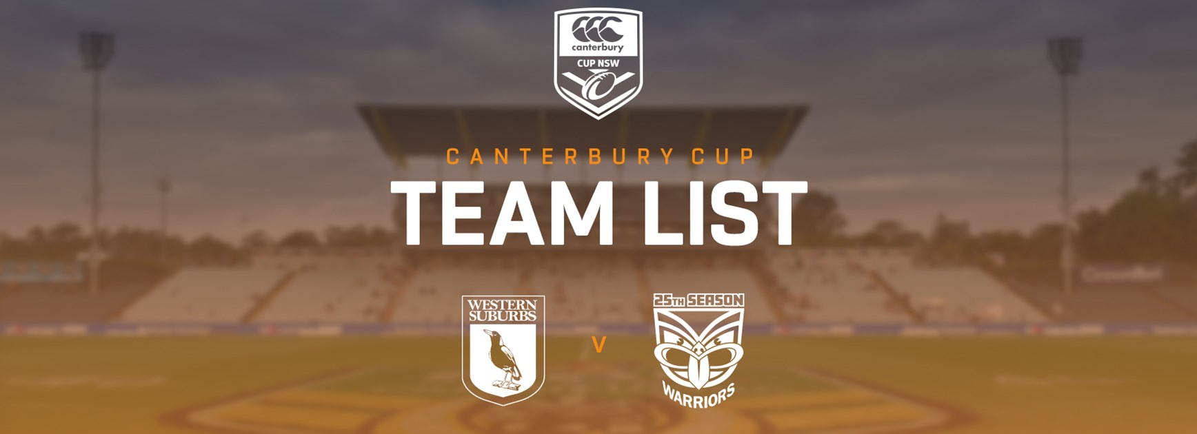 Canterbury Cup Team Announcement: Round 2