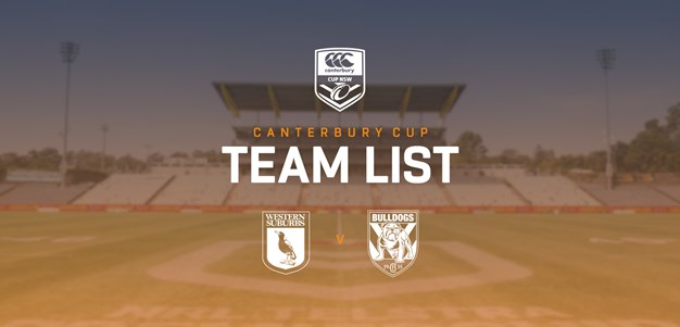 Canterbury Cup Team Announcement: Round 3
