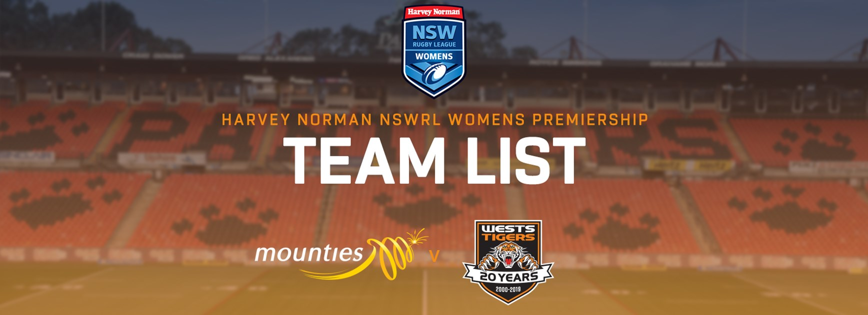 Harvey Norman NSW Women's Premiership Team Announcement: Round 4