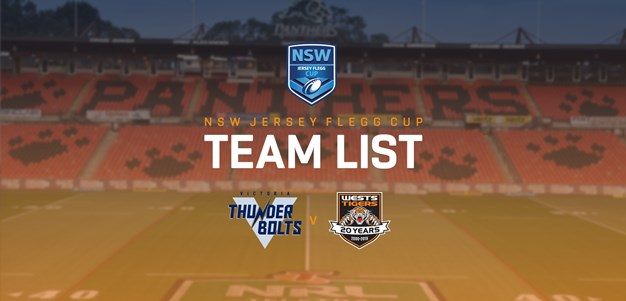 Jersey Flegg Team Announcement: Round 4
